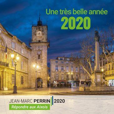 Voeux 2020 de l'équipe Perrin 2020, et galette des rois