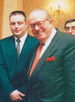Bart de Wever avec Jean-Marie Le Pen